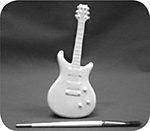 Guitar Pencil Holder $22