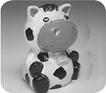 Party Cow Bank $24
