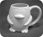 Penguin Mug $22