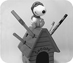 Flying Ace Pencil Holder $24